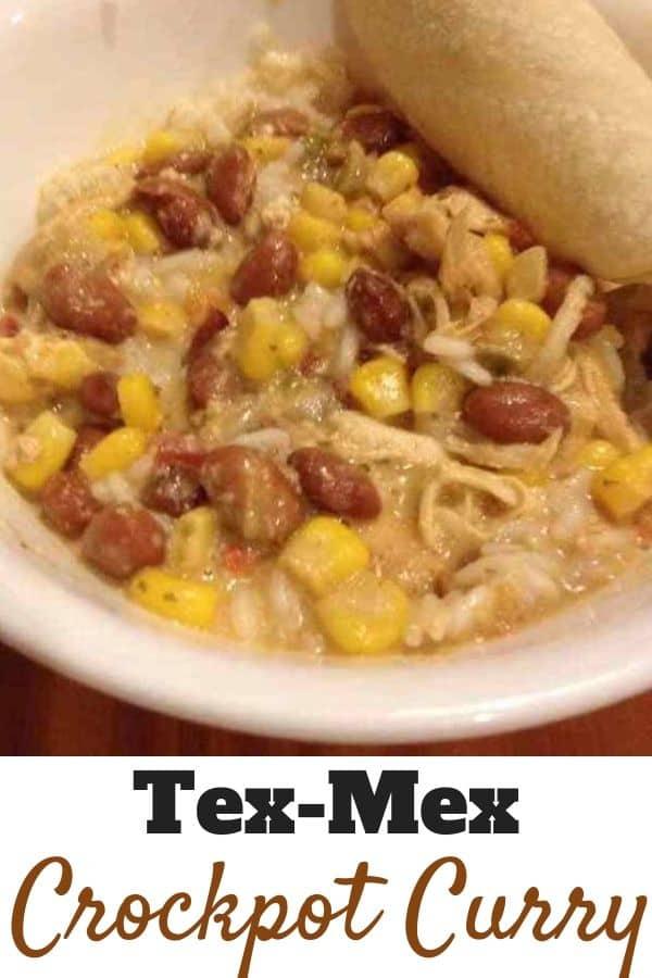 Tex-Mex Crockpot Curry Recipe