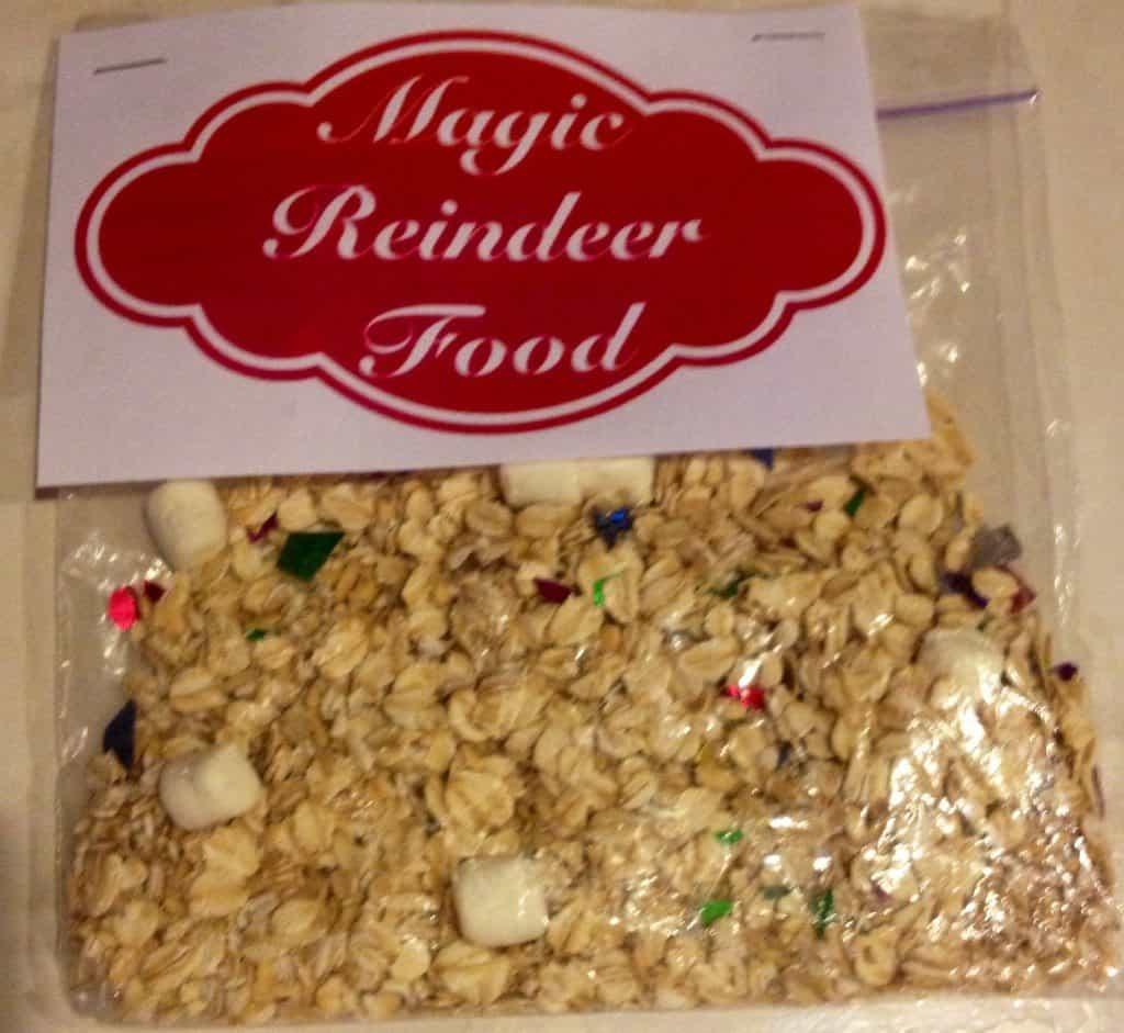 Magical reindeer food