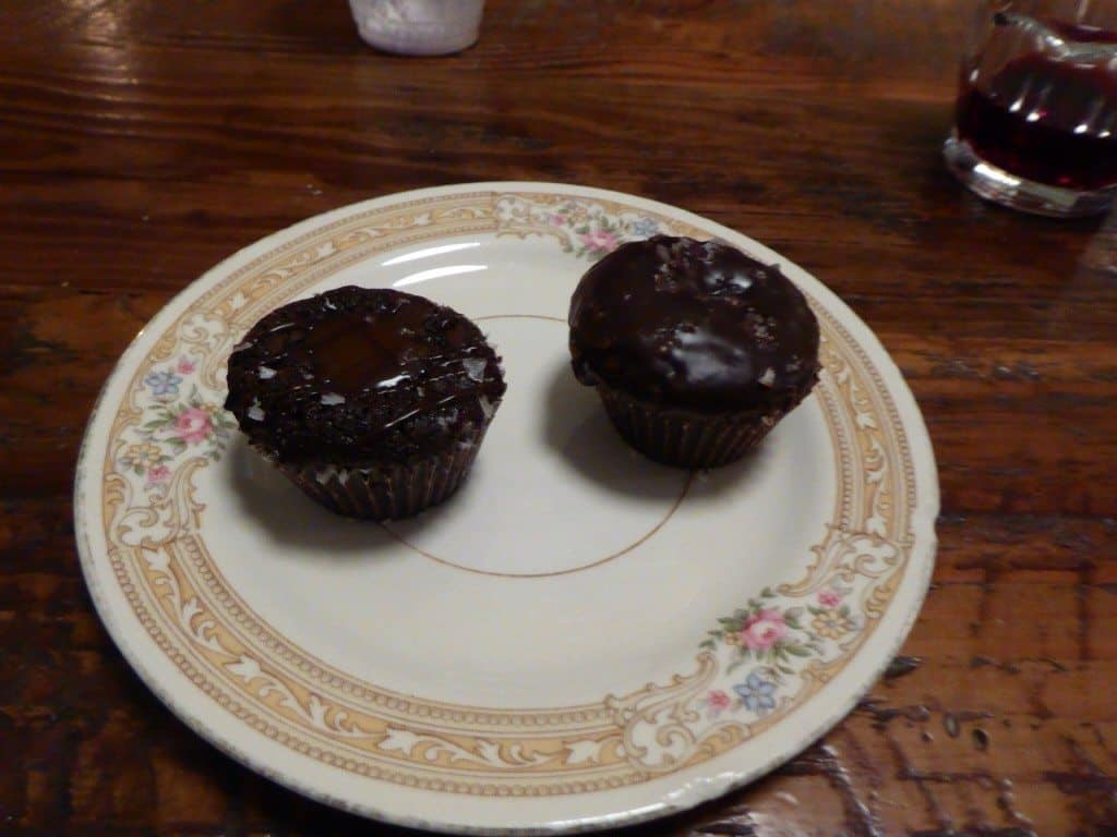 Lauretta Jeans salted caramel brownies