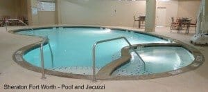 Sheraton Fort Worth pool