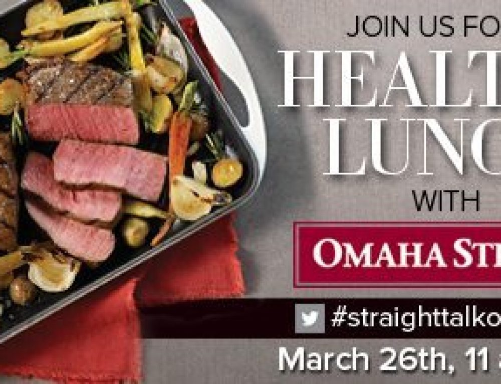 Omaha Steaks National Nutrition Month