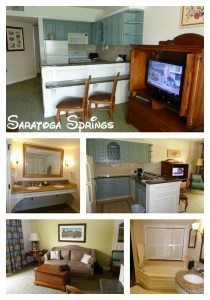 Saratoga Springs two bedroom condo at Disney World