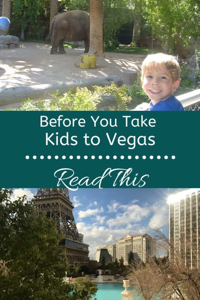 What you need to know before you take kids to Vegas