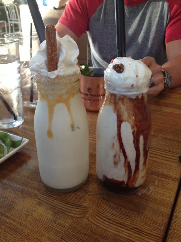 Cowfish milkshakes