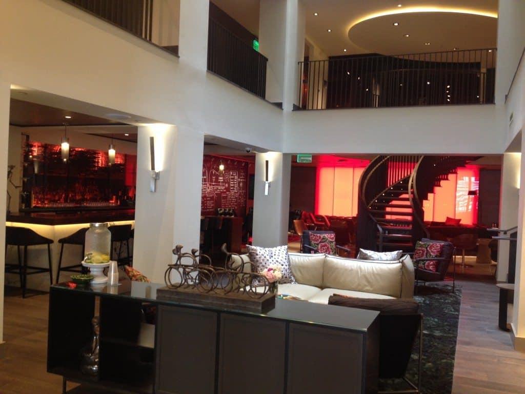 hotel vintage lobby
