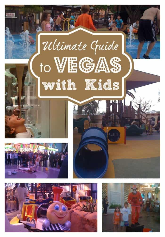 The ultimate guide to Las vegas with kids
