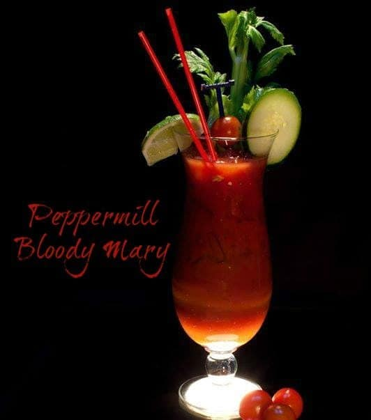 Peppermill Bloody Mary