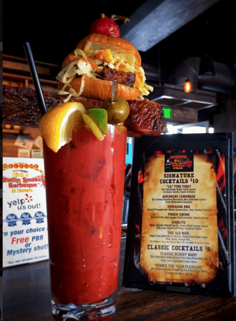 Rick's Rollin Smoke BBQ & Tavern Bloody Mary