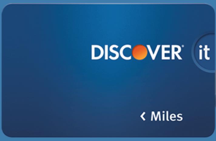 Discover travel rewards card