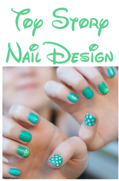 Toy story nail design a perfect manicure for visiting Disney