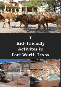 kid-friendly activities in Fort Worth