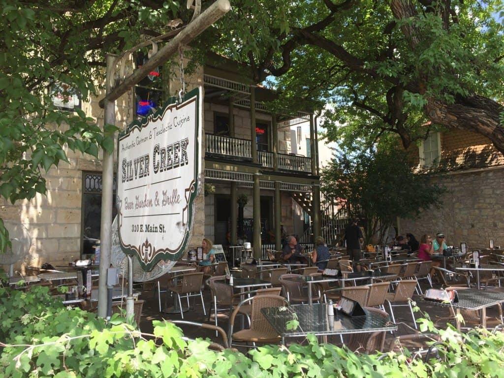 Silver Creek A German Restaurant In Fredericksburg Texas Mommy