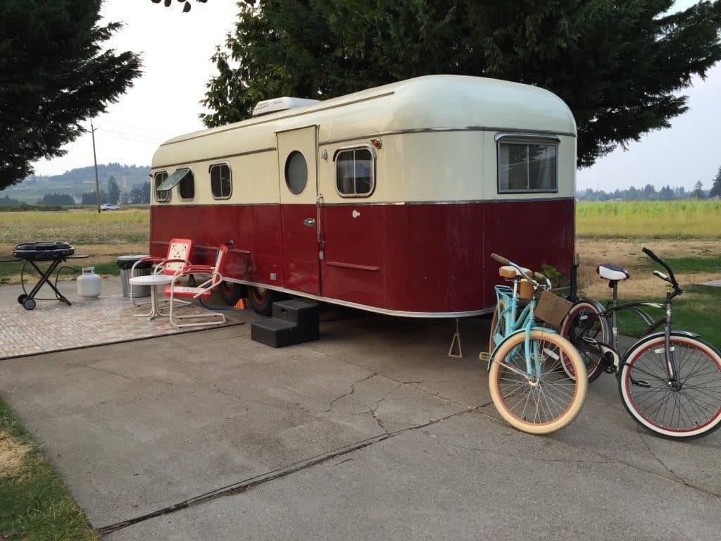 Vintage Trailer Resort in Oregon's Wine Country