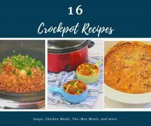 16 Crockpot Recipes