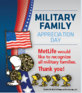 Metlife Military Family Appreciation Day