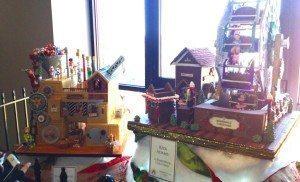 Gingerbread house at Grove Inn