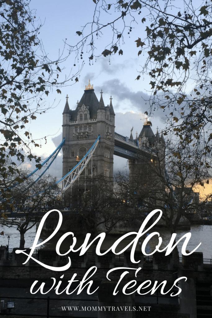 London with teens