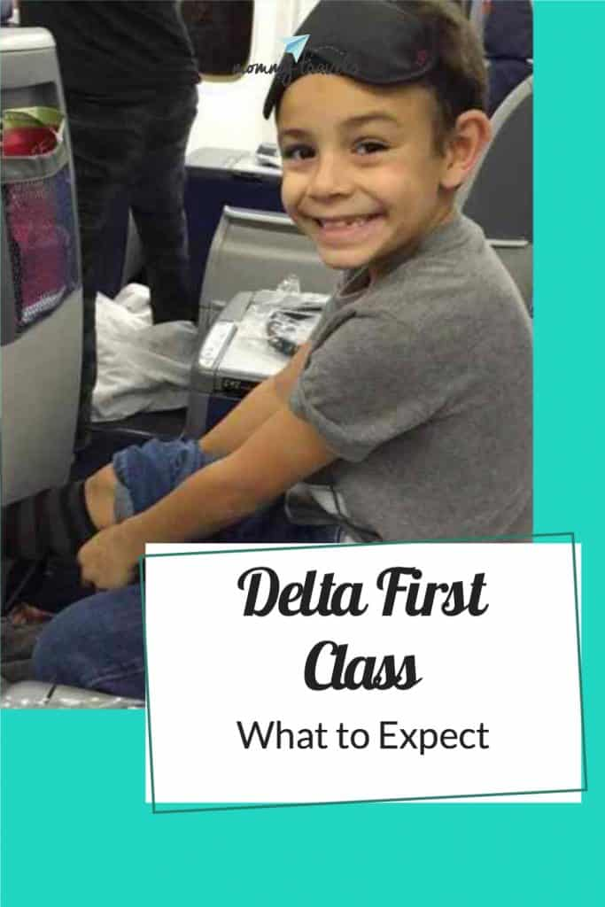 See what is included when Flying Delta First Class aka Delta One
