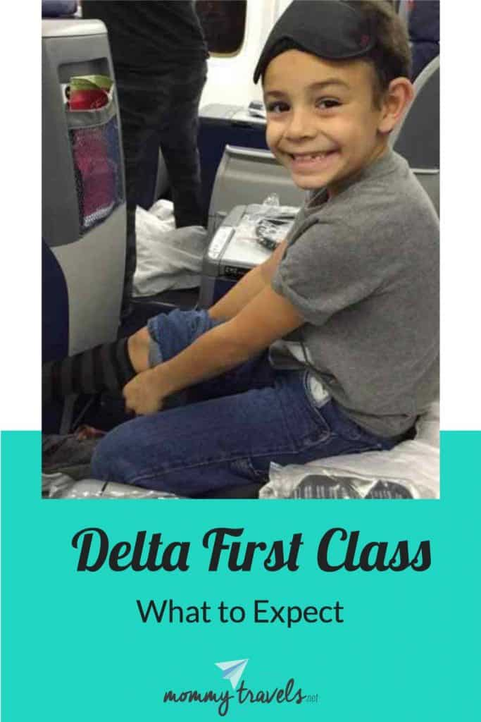 What to expect when flying Delta First Class aka Delta One