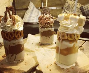 Eis Cafe milkshakes