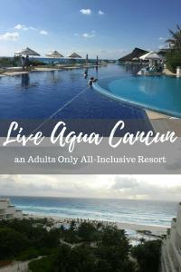 Live Aqua Cancun adults only