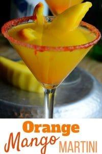 Orange Mango Martini Recipe