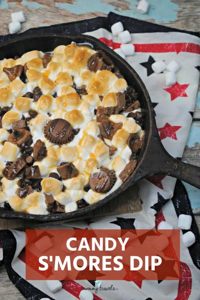 Candy S'mores Dip