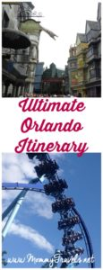 6 day Orlando Itinerary with what to do, where to eat, where to stay, and what to see