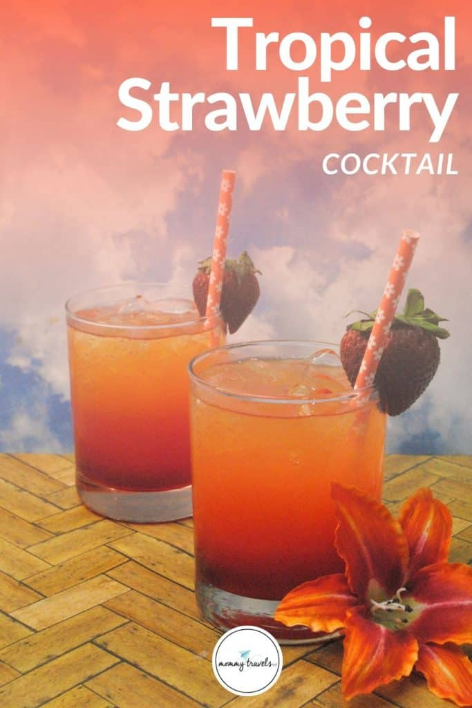 Tropical Strawberry Cocktail