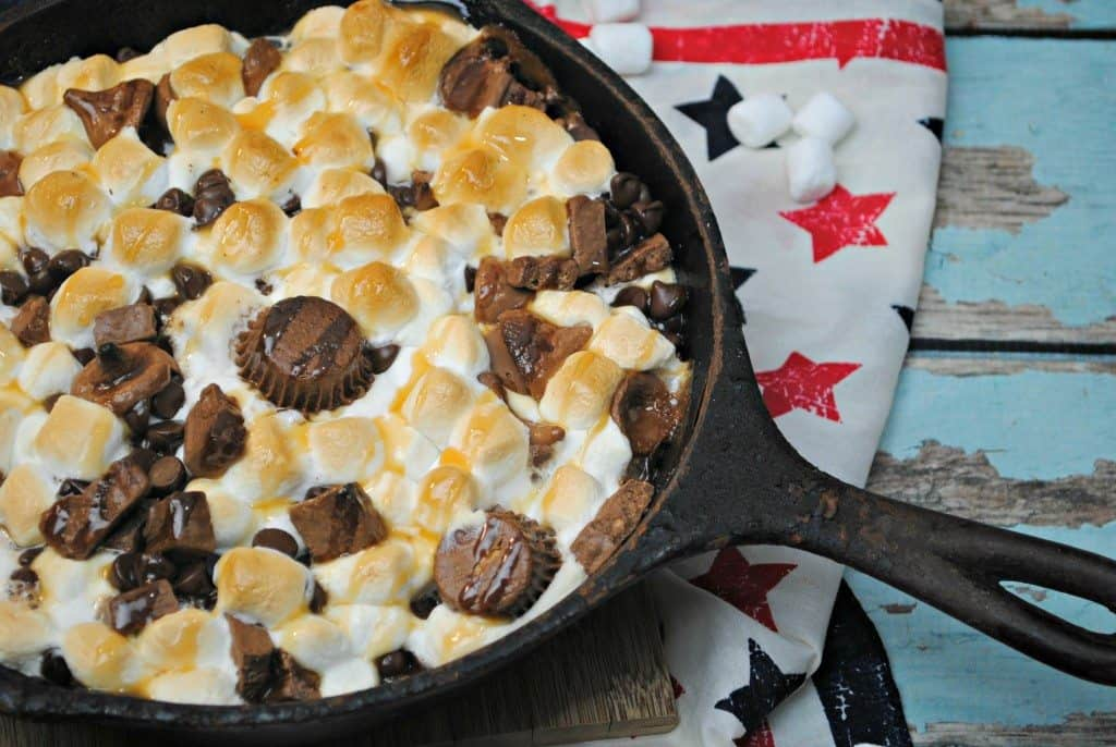 Candy S'mores recipe