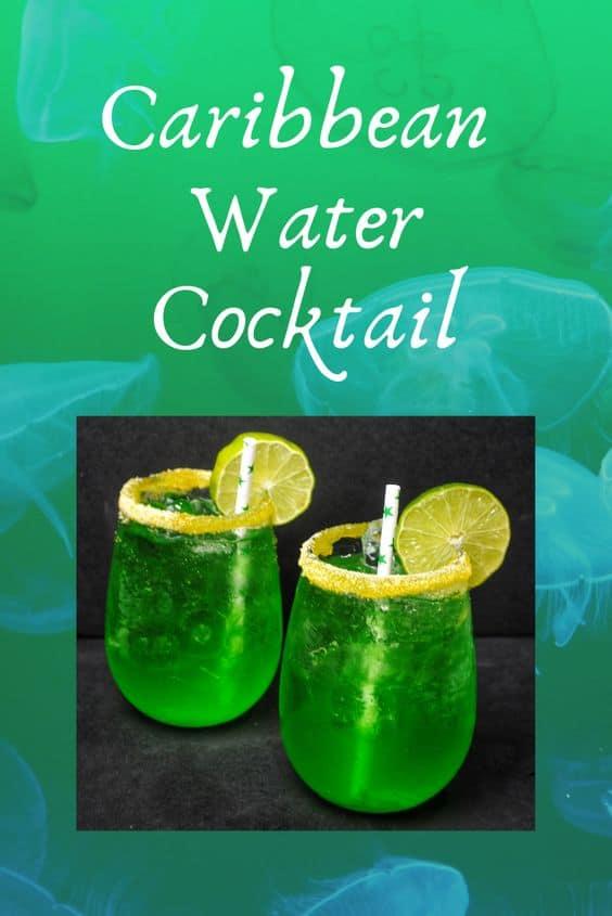 Caribbean water cocktail recipe