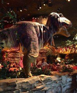 Disney T-rex cafe