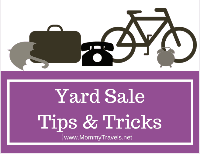 Yard Sale Tips like these are just what you need to make your next sale the best ever! Check out our tips for organizing and preparing to make money!