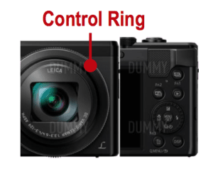 Panasonic Lumix ZS60 control ring