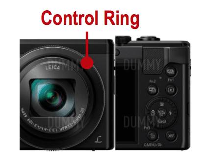 Panasonic ZS60 control ring