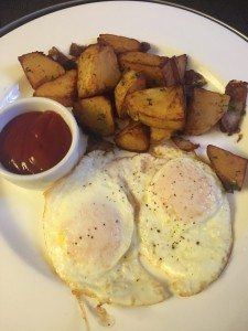 Heathman breakfast in bed