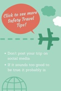 safety travel tips