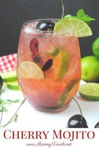 Cherry Mojito recipe
