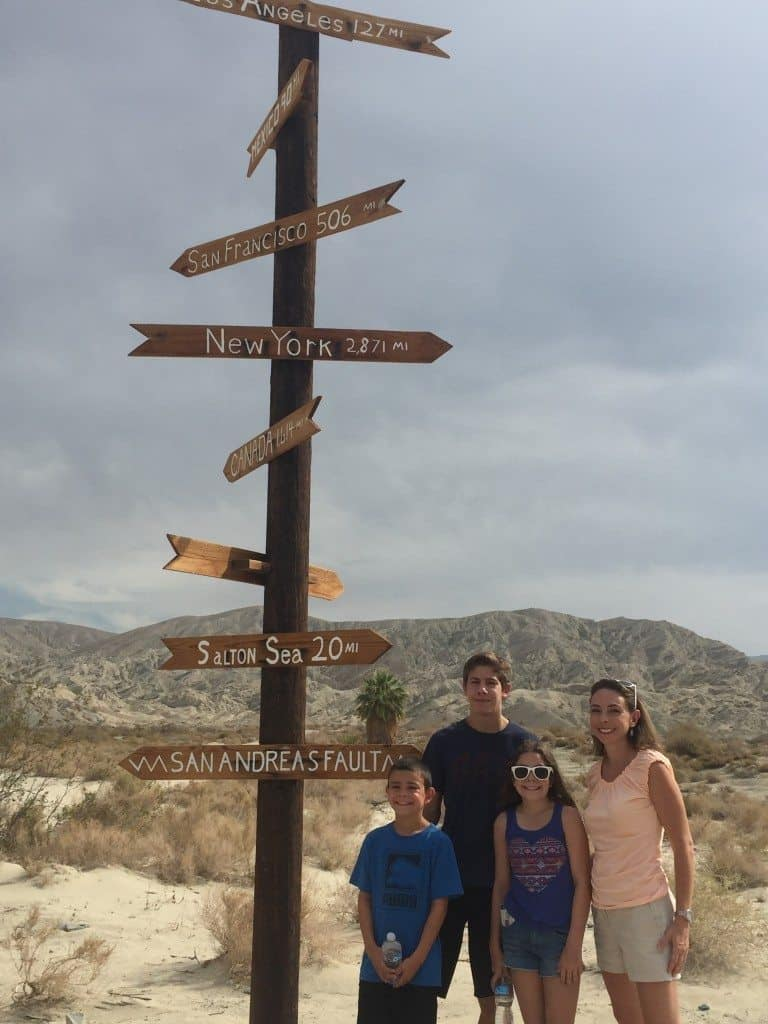 Touring The San Andreas Fault Near Palm Springs Mommy