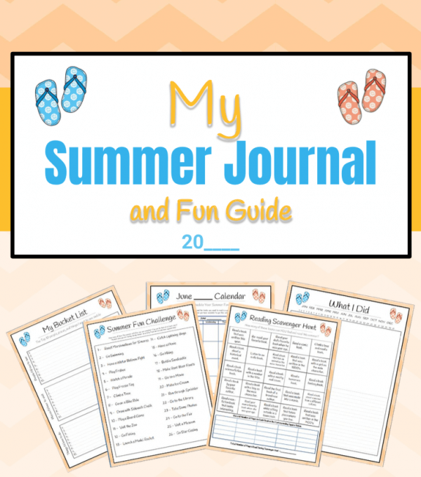 Kid's Summer Journal and Fun Guide
