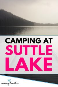 Camping at Suttle Lake in Central Oregon