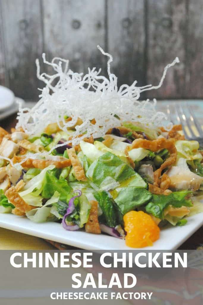 Chinese Chicken Salad copycat Cheesecake Factorty recipe