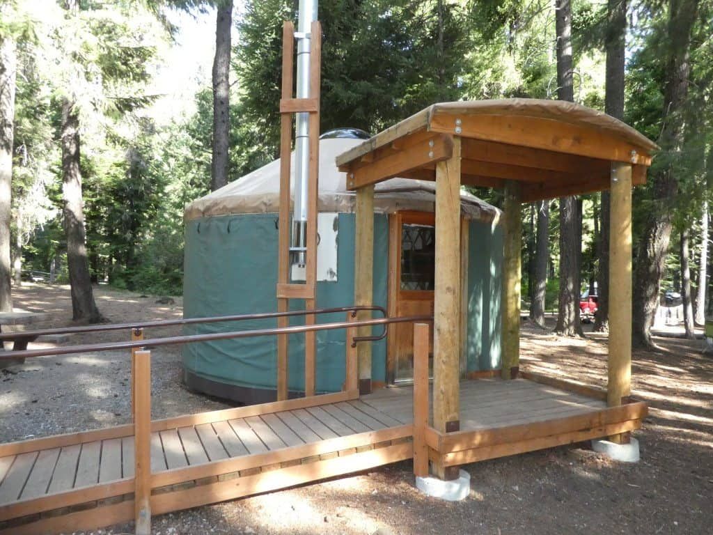 Suttle Lake Yurt