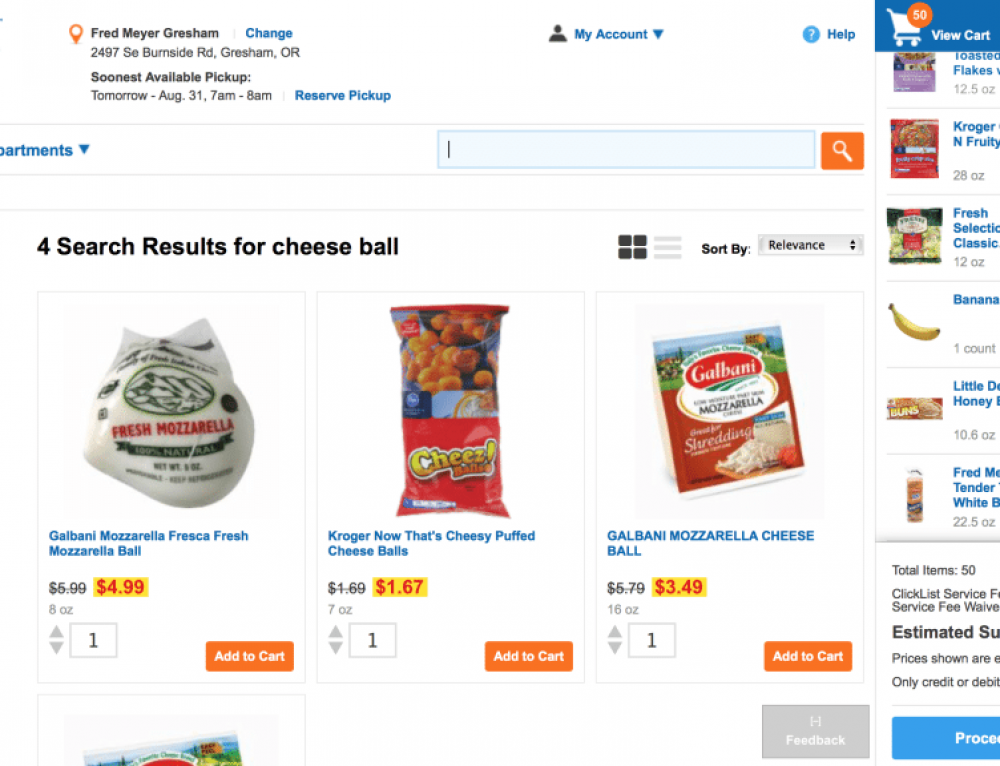 Grocery Shop from Home with Fred Meyer Clicklist