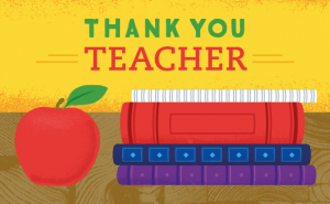 Amazon Gift Card just for teachers