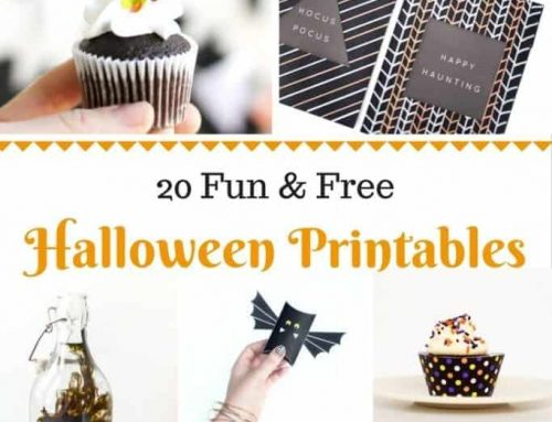 20 Fun & Free Halloween Printables