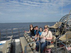 Wild Florida airboat