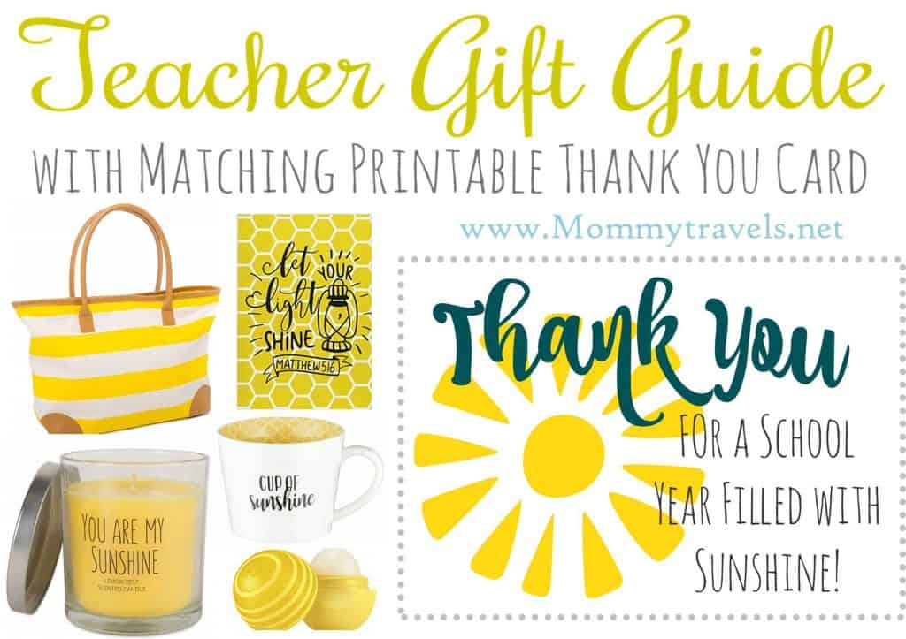 Teacher Gift - Sunshine Bundle