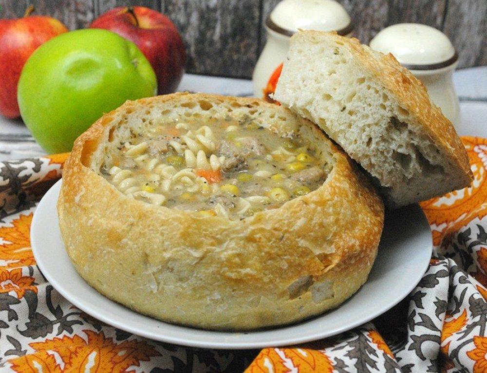 Apple Turkey Soup – Crockpot Recipe