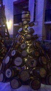 Gaylord Texan wine barrel christmas tree